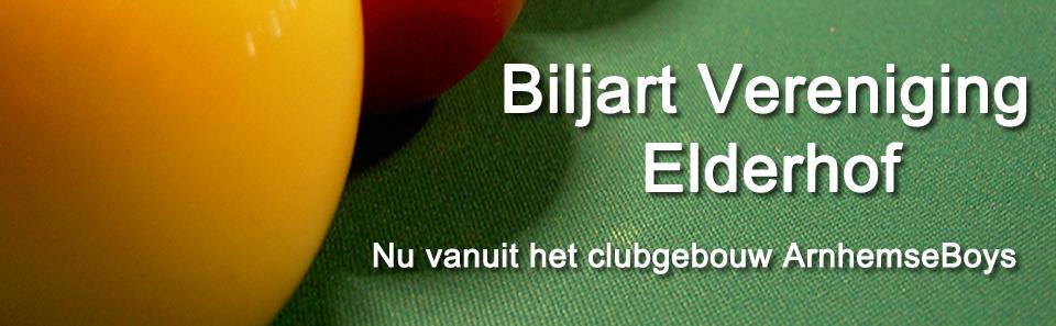 Biljart vereniging Elderhof