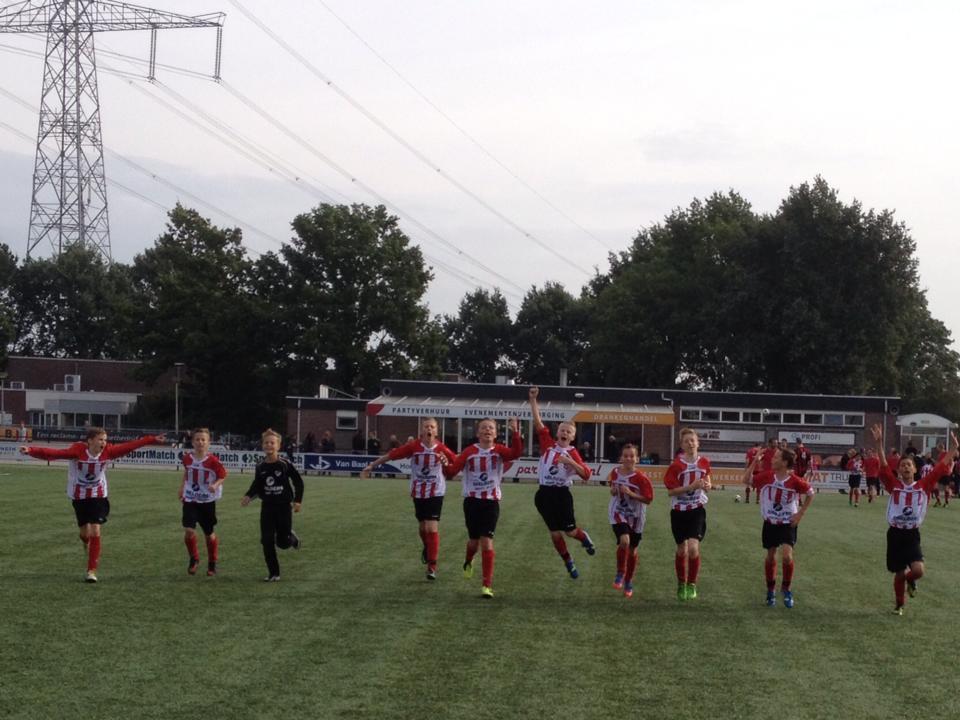 ArnhemseBoys D1 Winst bij Excelsior Zetten
