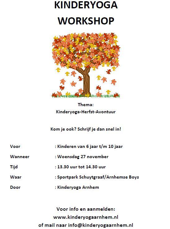 KinderYoga workshop