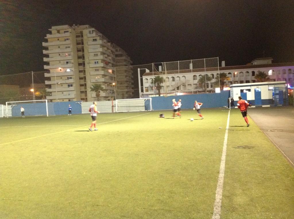 AB Tenerife voorbereiding