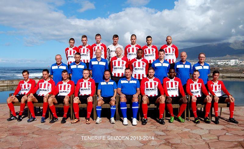 Arnhemse Boys selectie seizoen 2013 - 2014