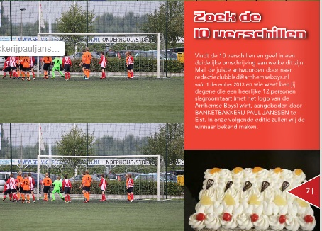 Prijsvraag Clubblad