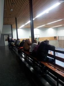 Het publiek op de tribune in Driel