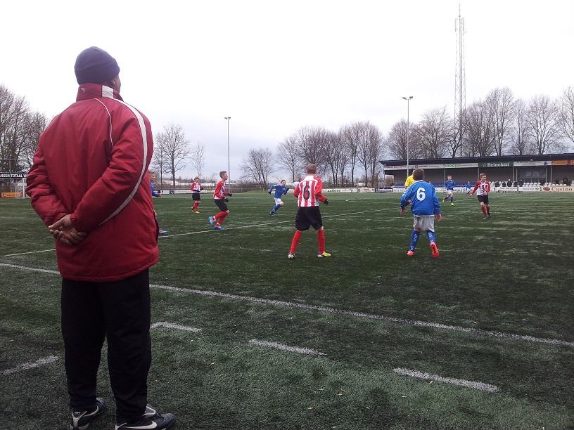 Kwartfinale beker RKHVV D1- ArnhemseBoys D1-a