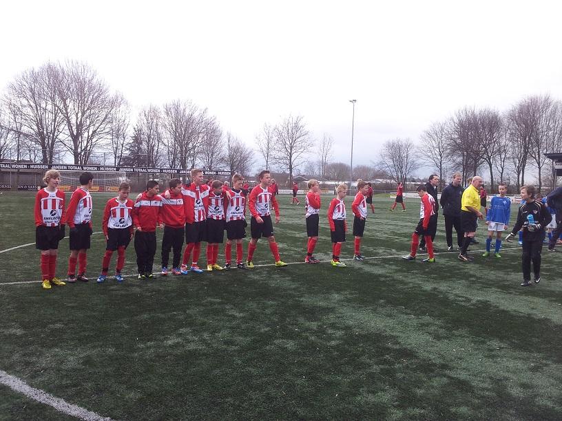 kwartfinale beker RKHVV D1- ArnhemseBoys D1-b
