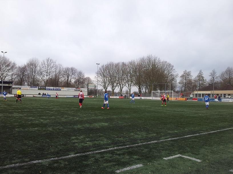 kwartfinale beker RKHVV D1- ArnhemseBoys D1