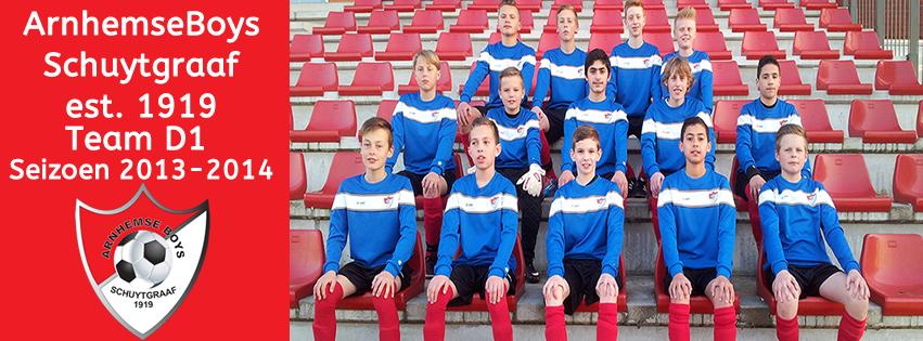 Arnhemse Boys D1 seizoen 2013 -2014