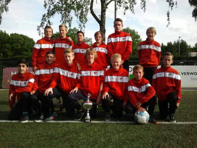 ArnhemseBoys D1 winnaar International Youth Tournament VDZ