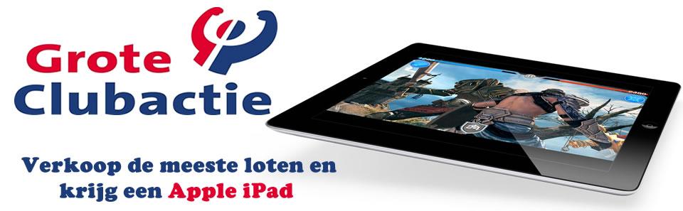 Grote Club Actie 2014 Apple iPad