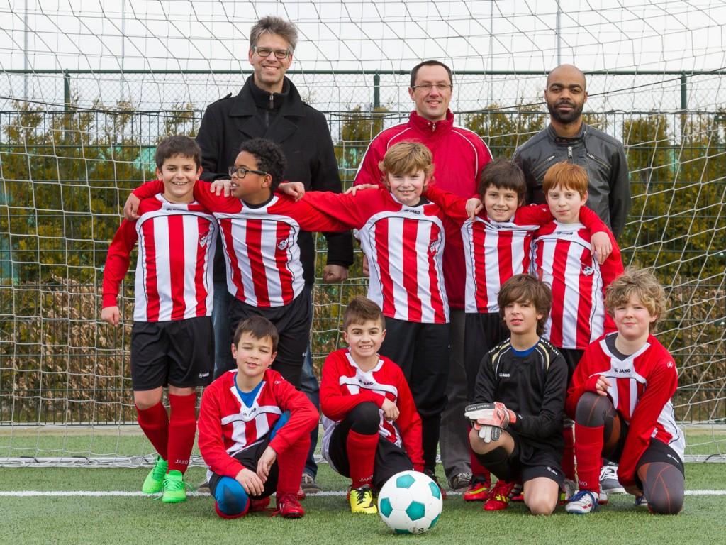 Arnhemse Boys E11 teamfoto