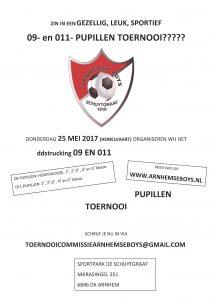 JO11 en JO9 Arnhemse Boys Schuytgraaf toernooi 25 mei