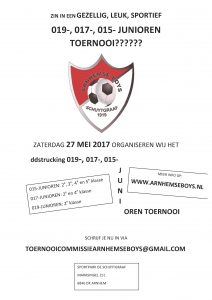 JO19 JO17 JO15 Arnhemse Boys Schuytgraaf toernooi 27 mei