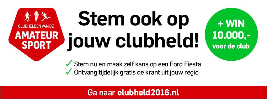 stem op onze clubheld!