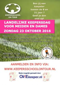 Keepersschool On Tour