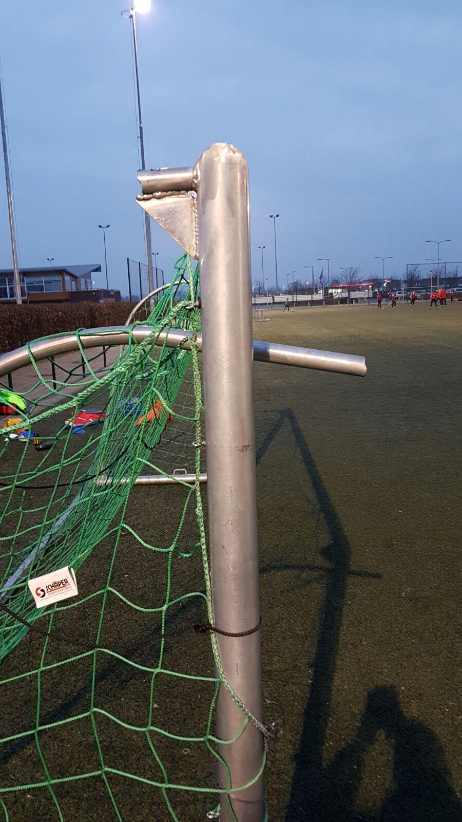 vandalisme op Sportpark Schuytgraaf