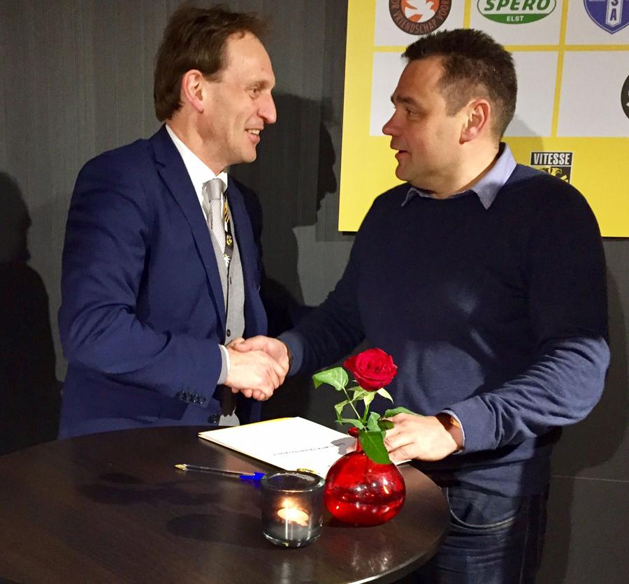 Arnhemse Boys Schuytgraaf partnerclub van Vitesse