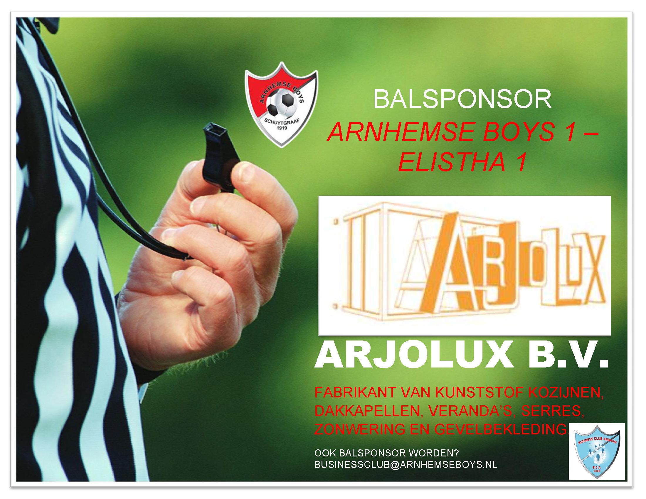 Arjolux Westervoort balsponsor