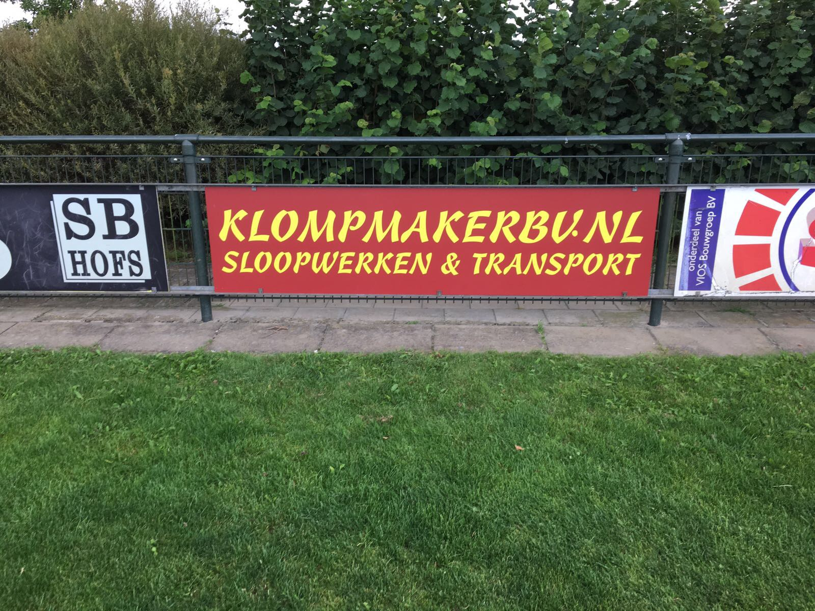 Contractnieuws nieuwe borgsponsor Klompmaker B.V.