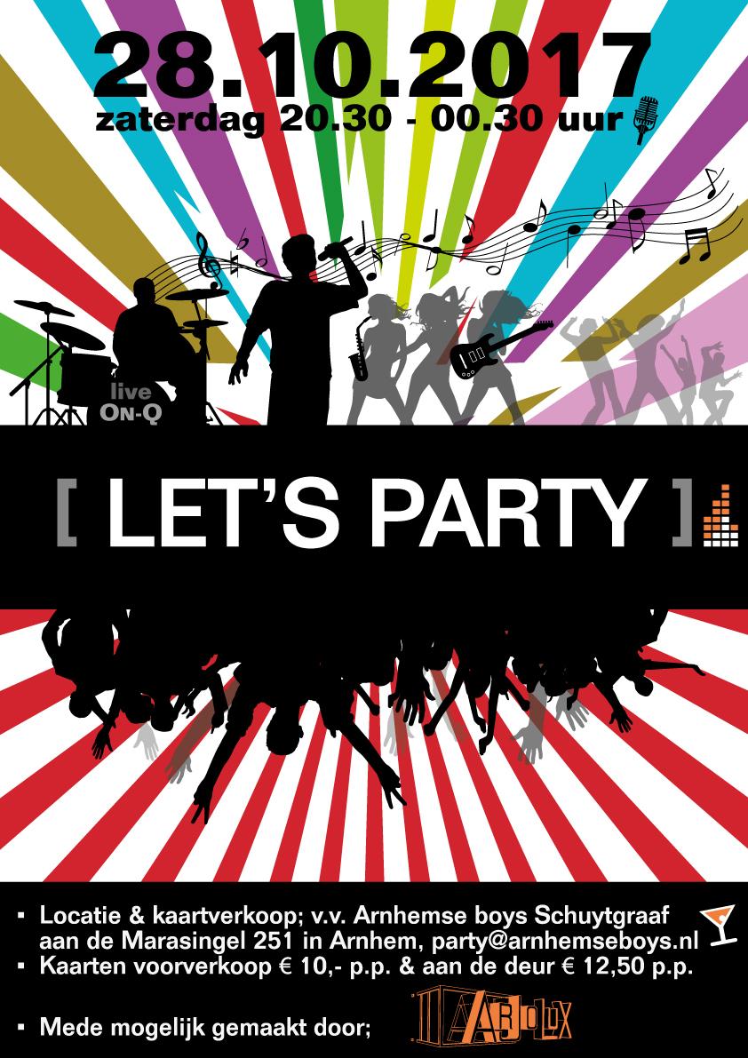 Let's Party | 28 oktober 2017