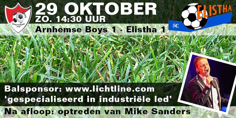 Arnhemse Boys Schuytgraaf 1 - Elistha 1