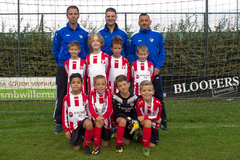Arnhemse Boys Schuytgraaf JO8-1 seizoen 2018-2019