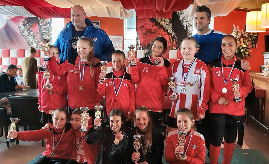Arnhemse Boys Schuytgraaf MO11-1 najaarskampioen seizoen 2018-2019
