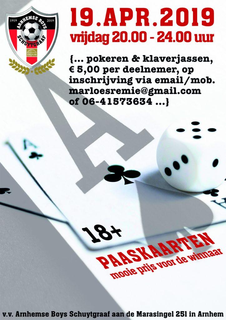 Paaskaarten bij Arnhemse Boys Schuytgraaf