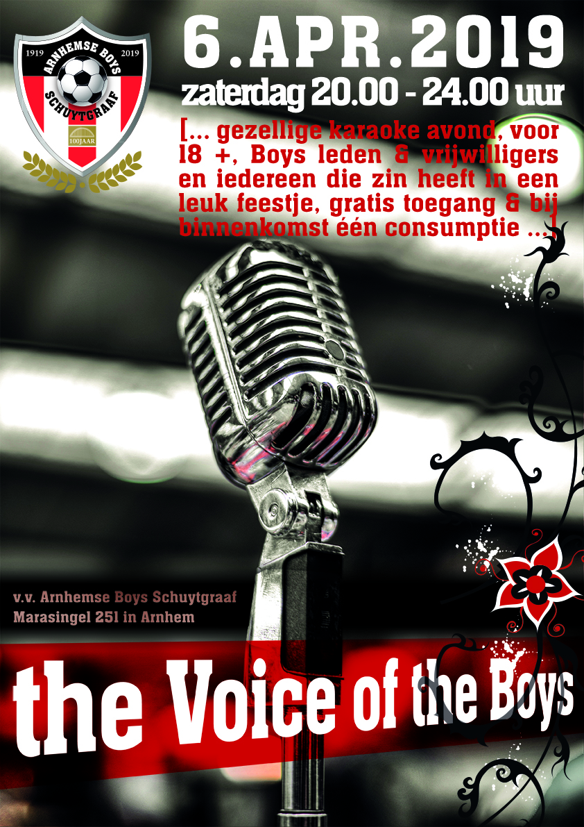 The Voice of the boys - Arnhemse Boys Schuytgraaf